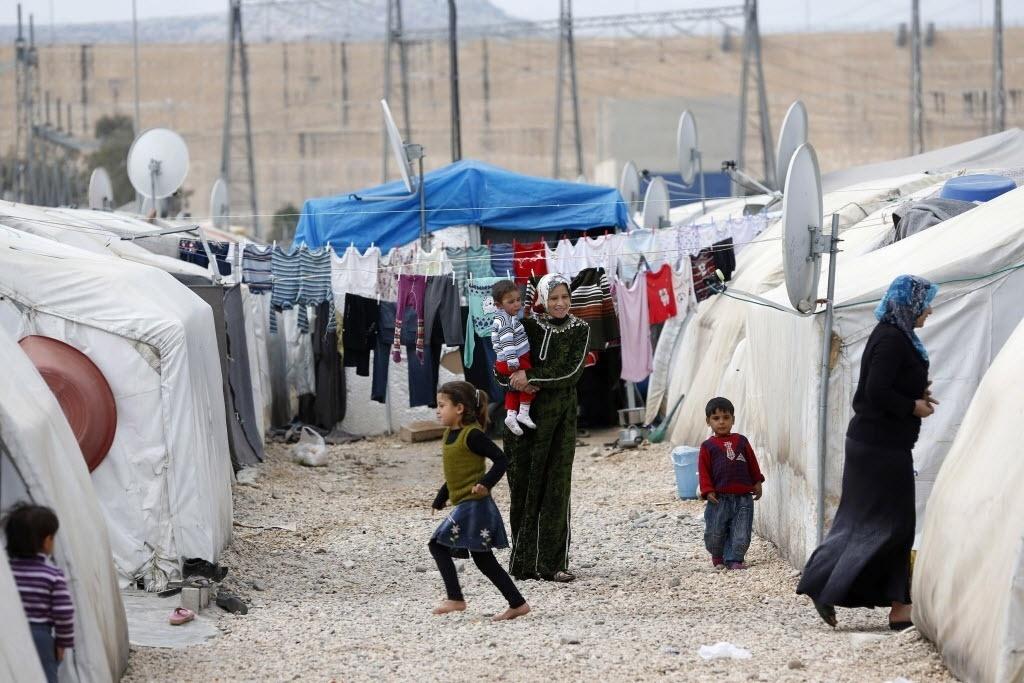 Campo de refugiados de Nizip, na Turquia