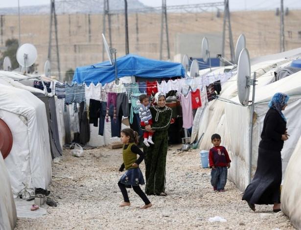 Campo de refugiados de Nizip, na Turquia, onde o acusado trabalhou como faxineiro
