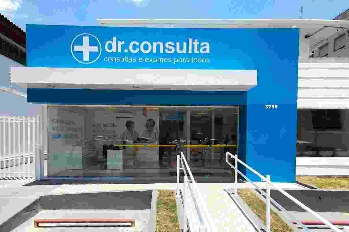 Fachada da clínica dr. consulta, que atua no segmento de exames e consultas médicas e odontológicas a preços populares - Divulgação