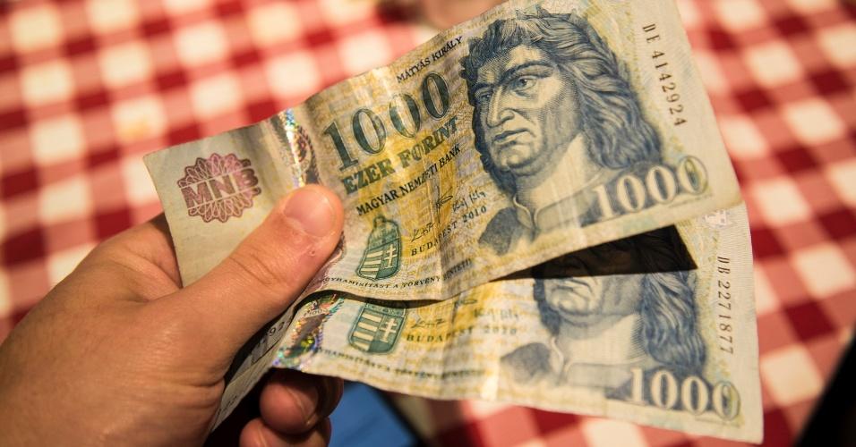 moeda da hungria, forinte
