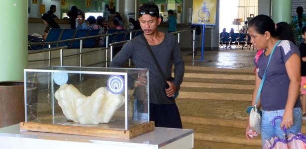 Pescador manteve a preciosidade de 34 quilos escondida debaixo da cama - Divulgação/Escritório de Turismo de Puerto Princesa