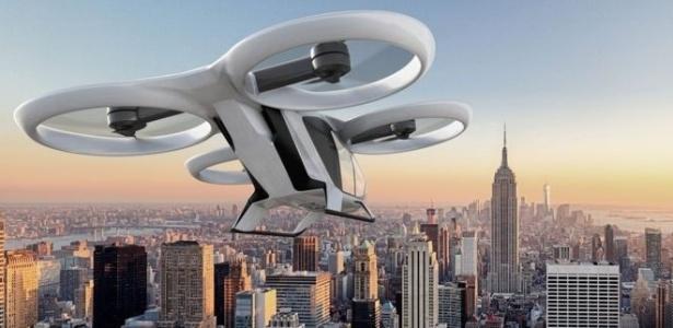 CityAirbus, o táxi voador que parece um drone, foi apresentado em feira de aviação - Divulgação