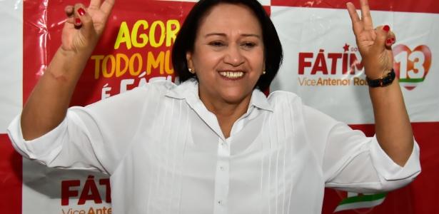 Fátima Bezerra (PT) foi eleita com 57,60% dos votos válidos