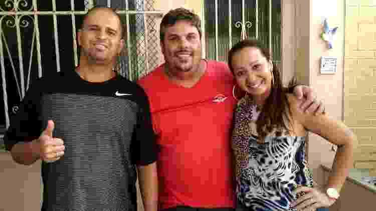 Leandro Menezes, Bruno Castanha e Thaís Ribeiro tomam conta do canal Ninja O Sincero, que publicou o áudio originalmente - Arquivo pessoal