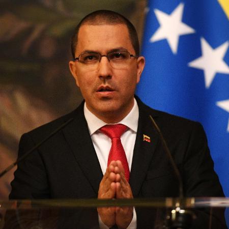 5.mai.2019 - Ministro de Relações Exteriores da Venezuela, Jorge Arreaza - Kirill Kudryavtsev/AFP