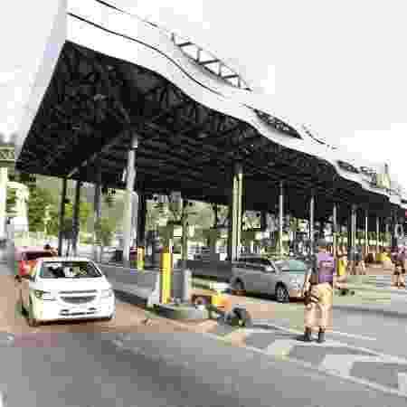 Arquivo - Praça de pedágio da Linha Amarela de concessão com a Linha Amarela S/A (Lamsa), no Rio de Janeiro - Jose Lucena/Futura Pressa/Estadão Conteúdo