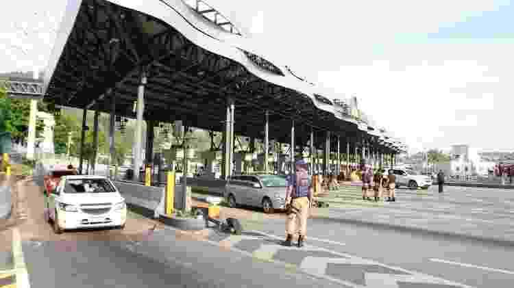 28.out.2019 - Praça de pedágio da Linha Amarela de concessão com a Linha Amarela S/A (Lamsa) - Jose Lucena/Futura Pressa/Estadão Conteúdo
