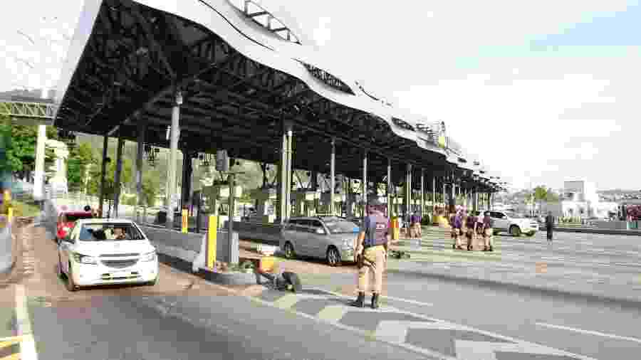 Praça de pedágio da Linha Amarela de concessão com a Linha Amarela, no Rio de Janeiro - Jose Lucena/Futura Pressa/Estadão Conteúdo