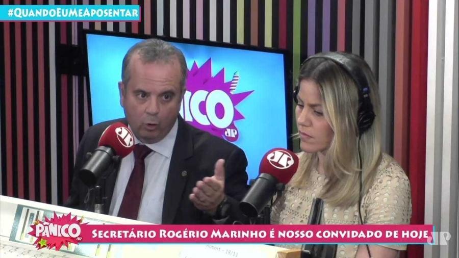 Secretário do Trabalho, Rogério Marinho, concedeu entrevista ao programa Pânico - Reprodução/Youtube