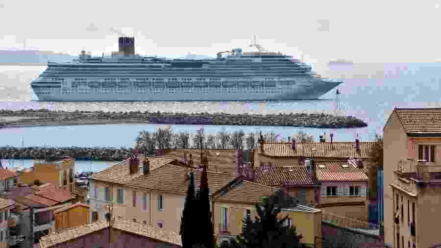 Navio de cruzeiro Costa Pacifica - Gerard Bottino/SOPA Images/LightRocket via Getty Images