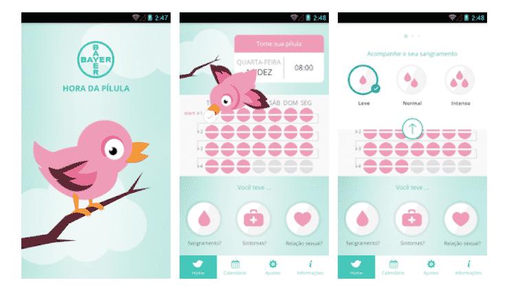 App Hora da Pílula - Reprodução - Reprodução