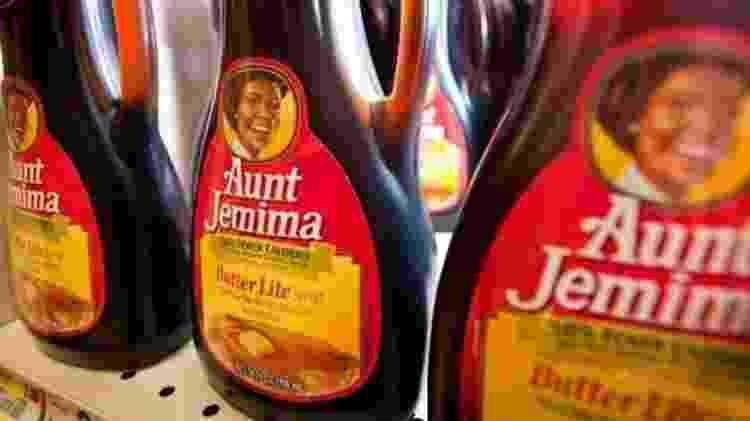 Xarope para panquecas Aunt Jemima faz alusão a negra que era escrava - Getty Images - Getty Images