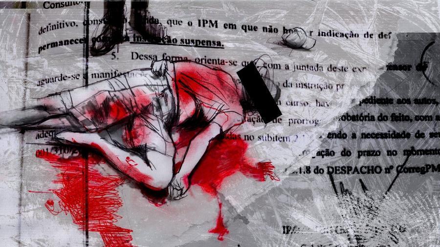 Interpretação jurídica feita pela Polícia Militar de São Paulo, revelada em reportagem do UOL, determina, desde maio deste ano, a suspensão de inqueritos de PMs que matam caso eles não apresentem advogados de defesa em até quatro dias - UOL