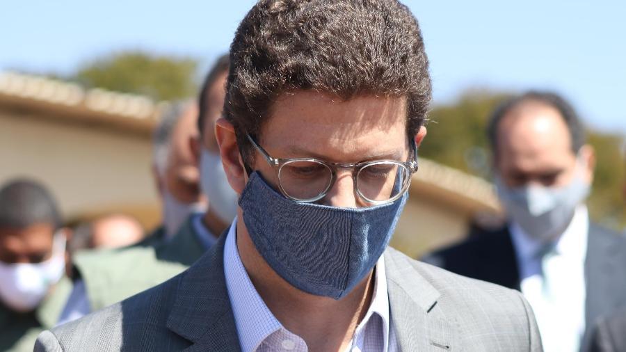 Ricardo Salles é acusado de obstrução de investigação ambiental, advocacia administrativa e organização criminosa - Frederico Brasil/Futura Press/Estadão Conteúdo