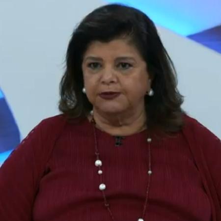 A empresária Luiza Trajano, dona da rede Magazine Luiza, durante entrevista ao Roda Viva (TV Cultura) - Reprodução/TV Cultura