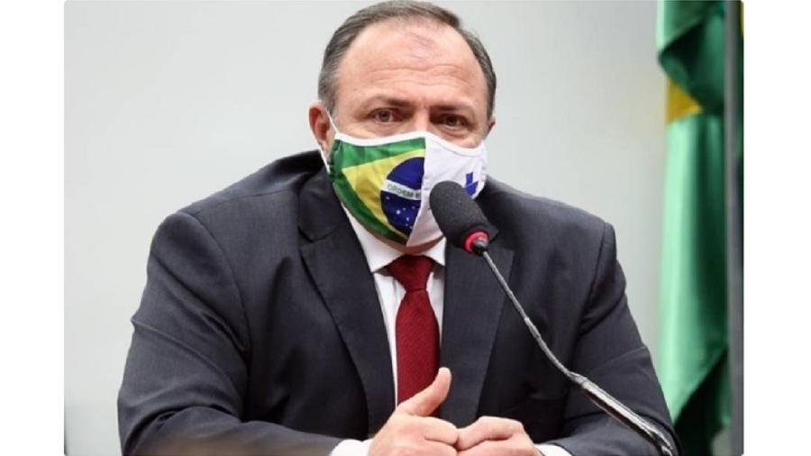 Eduardo Pazuello, ministro da Saúde, participou de primeiro evento após se recuperar de covid-19 - Maryanna Oliveira/Câmara dos Deputados