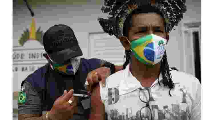 Menos indígenas estão morrendo por covid-19, mas epidemia de fake news assusta - Bruno Kelly/Reuters - Bruno Kelly/Reuters