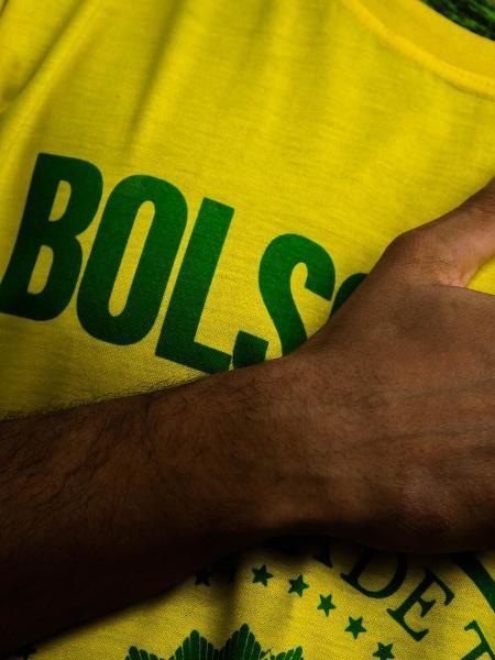 15.mai.2021 - Manifestantes participam de ato em apoio ao presidente Jair Bolsonaro em Niterói (RJ) - GABRIEL BASTOS/ESTADÃO CONTEÚDO