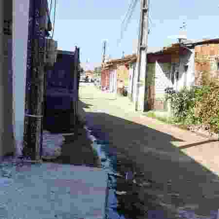 Rua fantasma no bairro de Taboãozinho, em Caucaia   - Arquivo pessoal - Arquivo pessoal