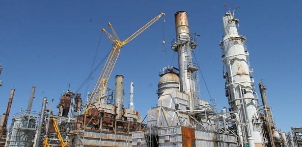 A refinaria de Pasadena, no Texas (EUA), da Petrobras