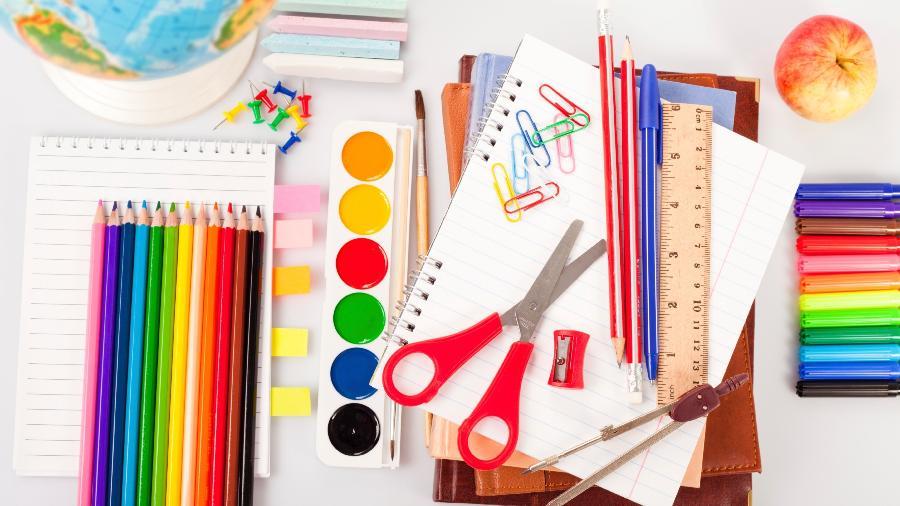 Material escolar; volta às aulas - iStock