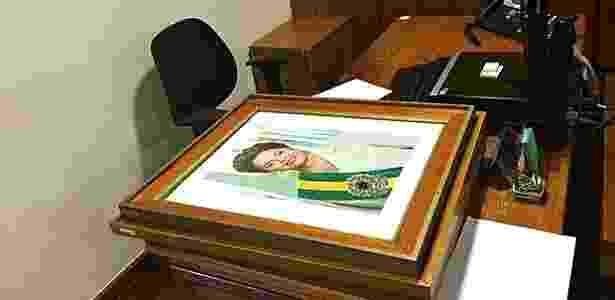Retratos de Dilma já haviam sido retirados de salas e gabinetes do Palácio do Planalto - Gustavo Uribe/Folhapress