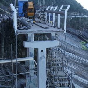 5.jul.2016 - As obras do trecho da ciclovia Tim Maia foram interrompidas