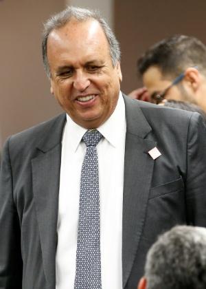 O governador do Rio, Pezão