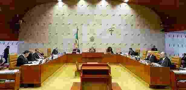 Sessão no STF: com o tempo, tribunal também passou a ser soterrado por casos - Pedro Ladeira/Folhapress