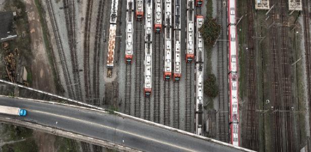 SP: todas as linhas da CPTM passam a operar parcialmente - Keiny Andrade/Folhapress