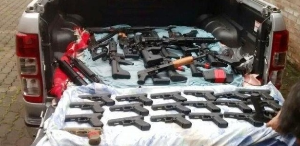 """Polícia Civil do RS apreendeu em outubro um arsenal da facção criminosa """"Os Manos"""""""