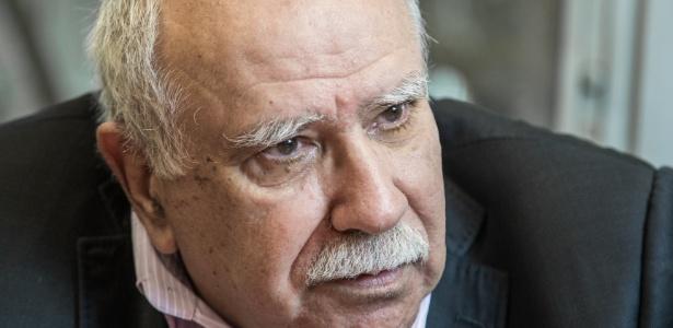 O sociólogo José de Souza Martins, em entrevista no departamento de sociologia da USP