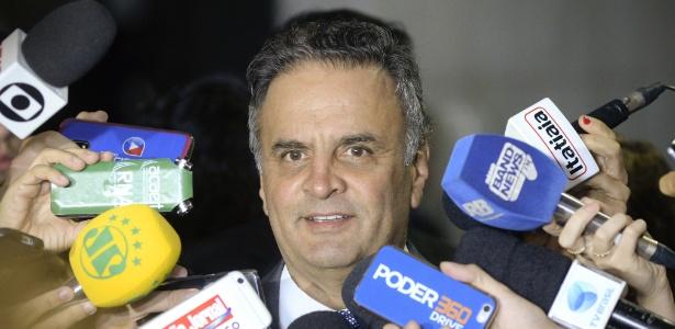 A defesa de Aécio Neves diz que Joesley mente - Jefferson Rudy/Agência Senado