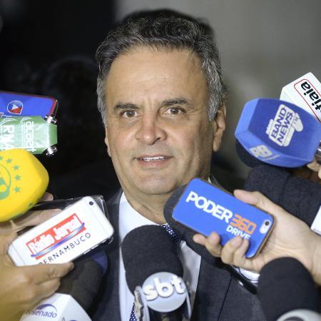 17.abr.2018 - Aécio Neves (PSDB-MG) - Jefferson Rudy/Agência Senado