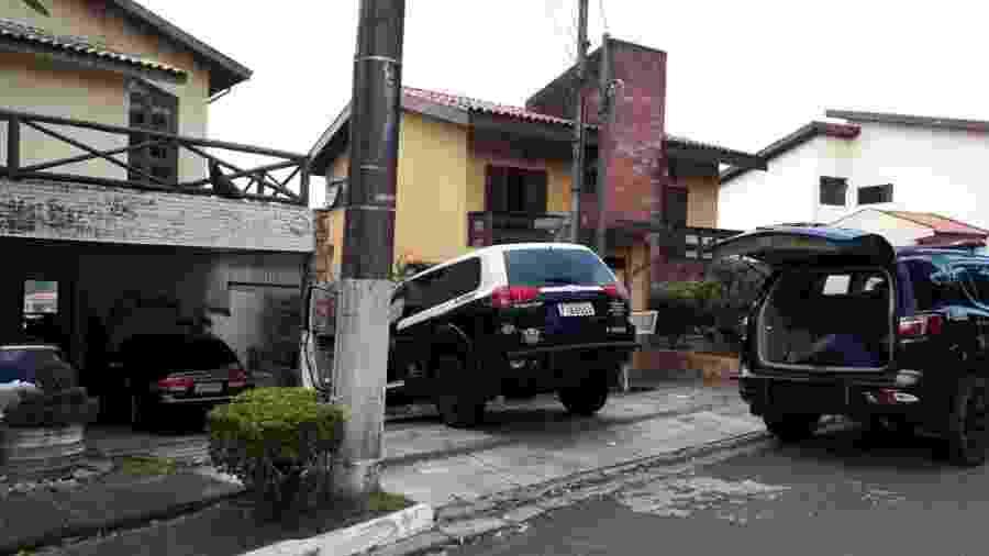 250 policiais civis foram para diligências, nesta quinta-feira (24), em 22 municípios de SP durante operação Transponder - 24.jan.2019 - Divulgação/Polícia Civil