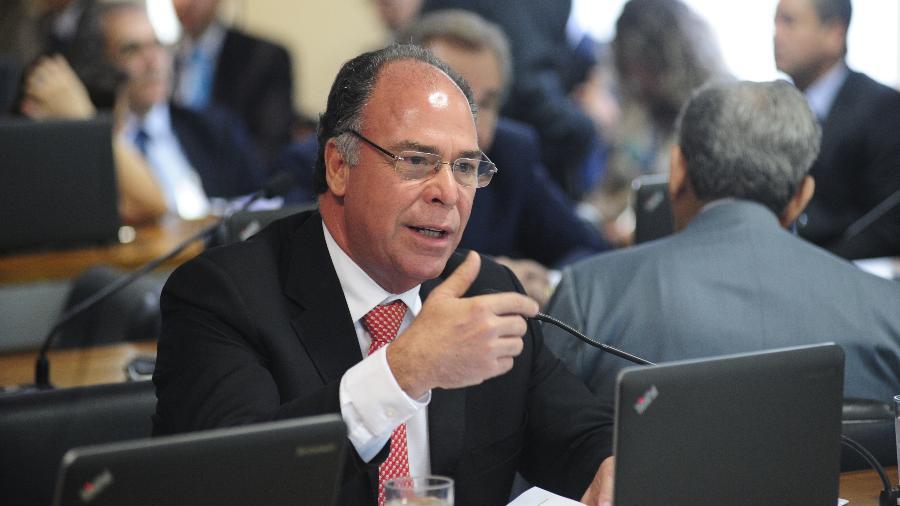 10.jul.2018 - O senador Fernando Bezerra (MDB-PE), escolhido por Jair Bolsonaro (PSL) como líder de seu governo no Senado - Pedro França/Agência Senado