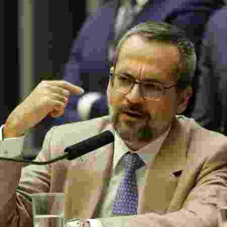 15.mai.2019 - O ministro da Educação Abraham Weintraub fala na Câmara - Dida Sampaio/Estadão Conteúdo