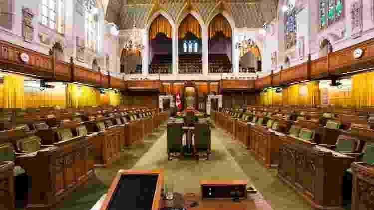 Parlamento, que está em recesso, teria pouco tempo para deliberar sobre o Brexit se as atividades forem suspensas - Getty Images - Getty Images