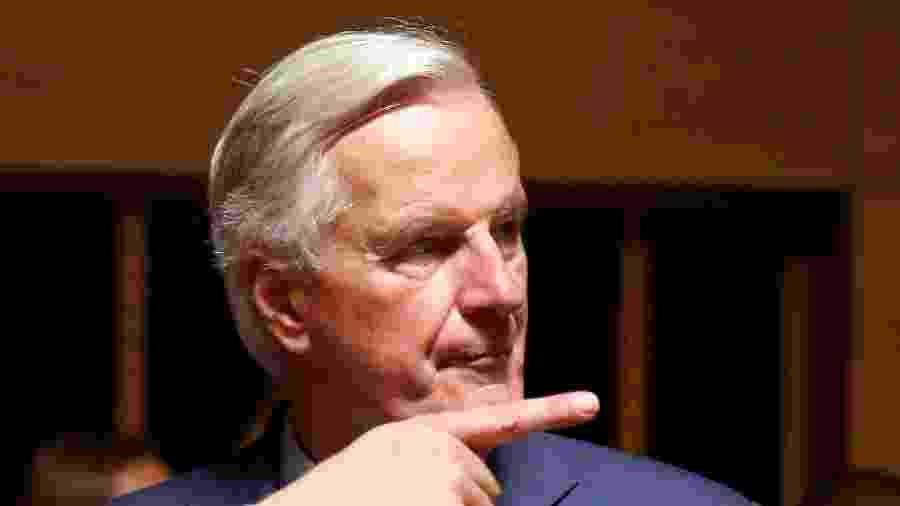 15.out.2019 - O negociador da União Europeia (UE), Michel Barnier - Francois Lenoir/Reuters