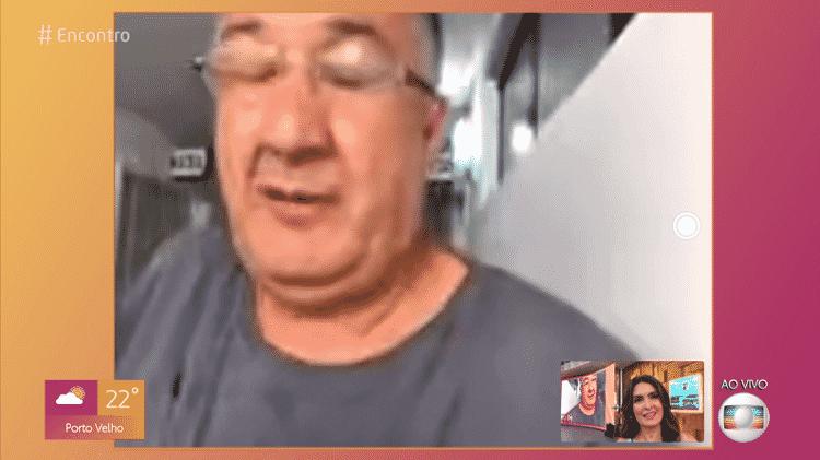 Paulo Sampaio comparece ao Encontro com Fátima Bernardes - Reprodução/Globoplay