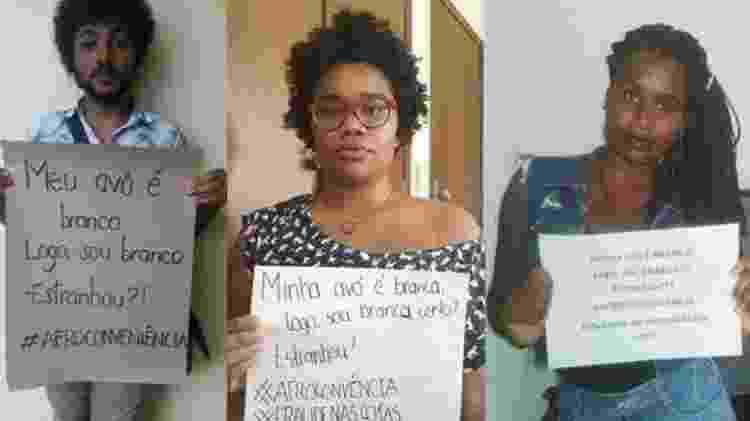 A hashtag #afroconveniência tem sua sido usada para denúnciar a prática de brancos se dizerem afrodescendentes quando convém - Reprodução/Twitter