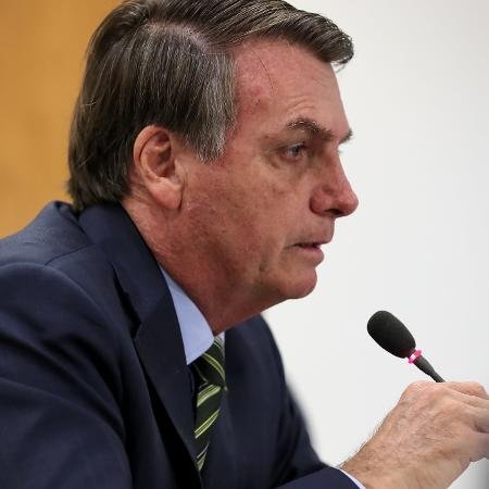 25.mar.2020 - O presidente Jair Bolsonaro (sem partido) - Marcos Corrêa/PR