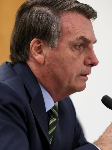 O presidente Jair Bolsonaro, em videoconferência com governadores do Sudeste - Marcos Corrêa/PR