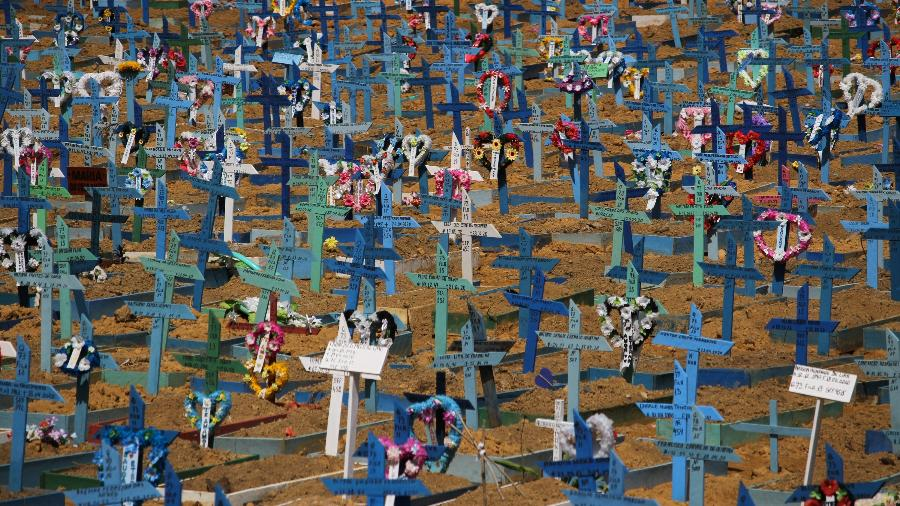 Média móvel de mortes no Brasil volta a superar 2.000 após mais de um mês - Lucas Silva/Agif