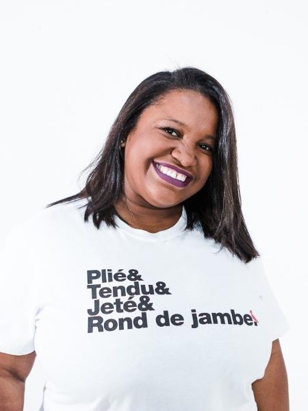 Daiana Ferreira, 32, fundadora do projeto social Ballet Manguinhos - Ana Maria Silva/Ballet Manguinhos