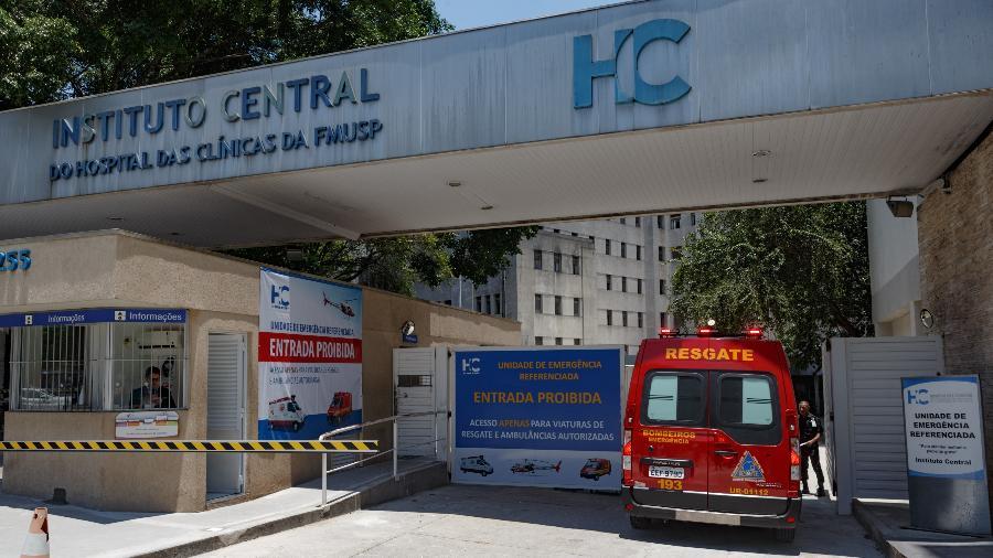 Instituto Central do Hospital das Clínicas, em São Paulo. Entidade é suspeita de superfaturar contratos para compra de gás medicinal - Rubens Cavallari/Folhapress