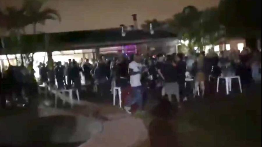 Festa clandestina em chácara de Parelheiros, na Zona Sul de São Paulo, com aglomeração de 142 pessoas é interrompida - Reprodução