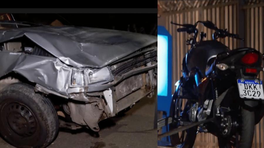 Um motorista de 66 anos, alcoolizado e sem carteira de habilitação, atropelou e matou um motoboy no Morumbi, em São Paulo - Reprodução/Hora 1/TV Globo