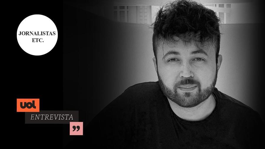Samuel Pancher - Jornalistas e Etc.  - Arte UOL