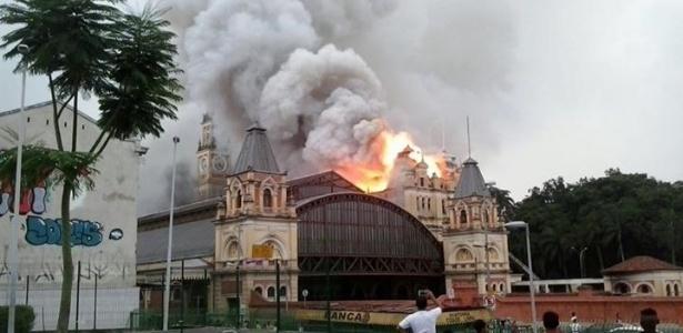 Em 21 de dezembro do ano passado, incêndio em museu deixou um morto